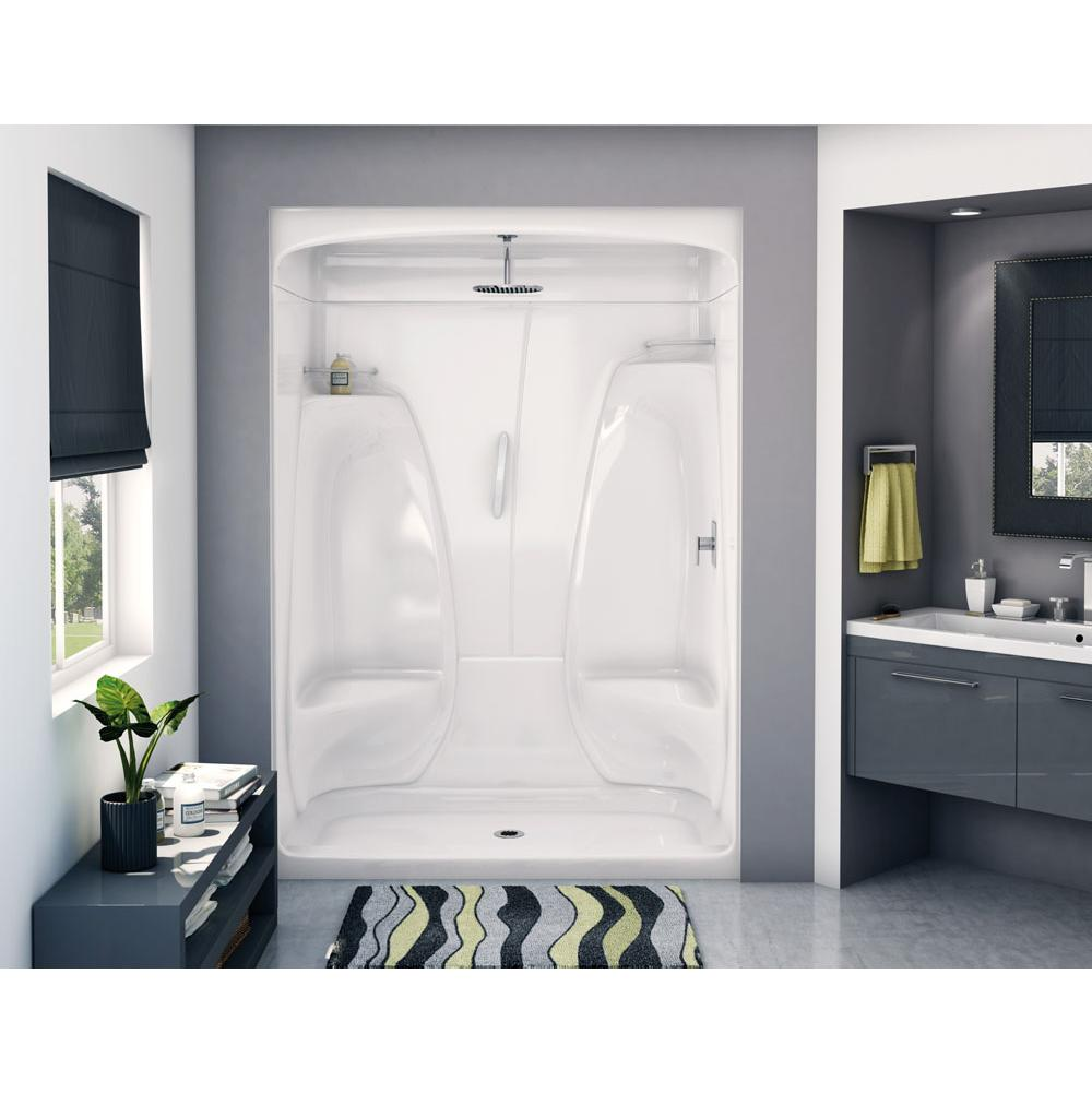 Aker Showers White White | Kitchens and Baths by Briggs - Grand ...