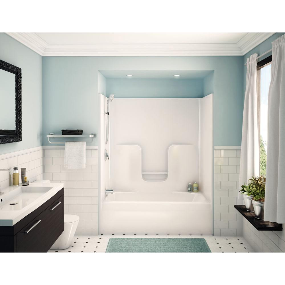 aker showers white white kitchens and baths by briggs grand 641 00