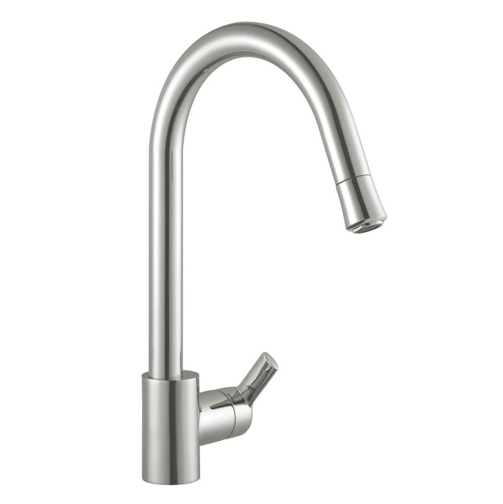 Artisan Manufacturing Single Hole Kitchen Faucets item AF-620-SN