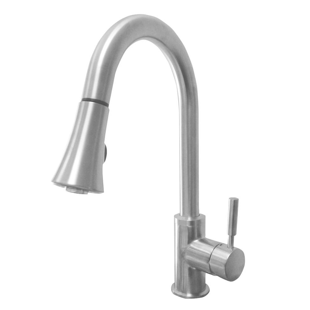 Artisan Manufacturing Single Hole Kitchen Faucets item AF-650-SN