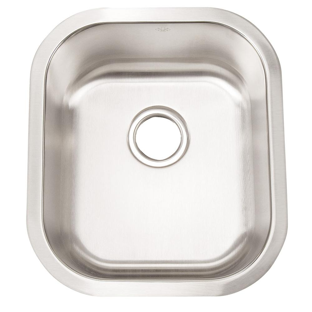 Artisan Manufacturing Undermount Kitchen Sinks item AR1618D8-D