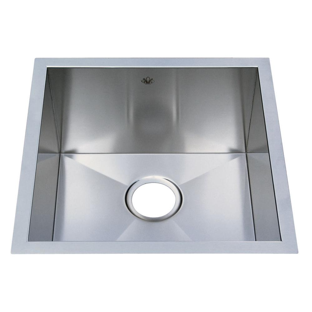 Artisan Manufacturing Undermount Kitchen Sinks item CPUZ1919D10
