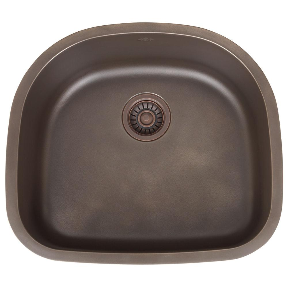 Artisan Manufacturing Undermount Kitchen Sinks item FDL-LM2321-D9-SS-HLP