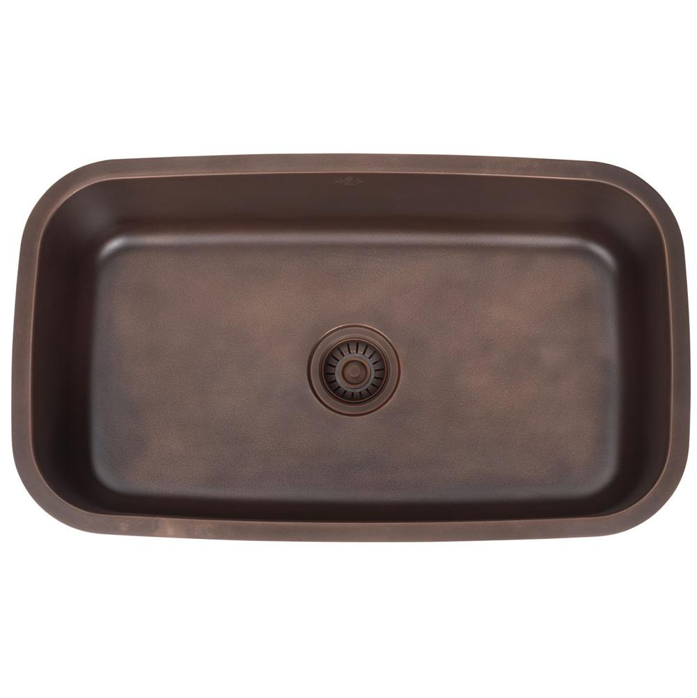 Artisan Manufacturing Undermount Kitchen Sinks item FDL-LM3118-D9-BN-AP