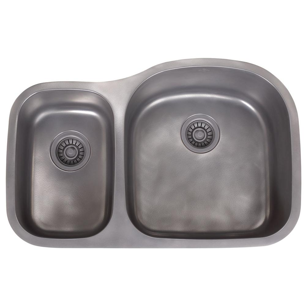 Artisan Manufacturing Undermount Kitchen Sinks item FDL-LM3220-D97R-BN-AP