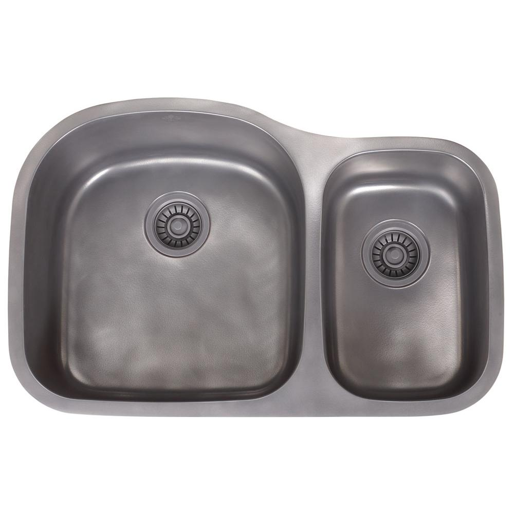 Artisan Manufacturing Undermount Kitchen Sinks item FDL-LM3220-D97-NS-AP