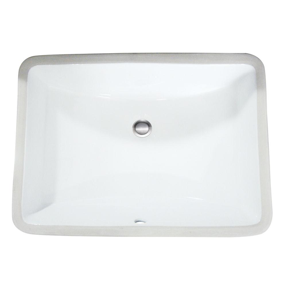 Artisan Manufacturing Undermount Bathroom Sinks item VCU 1612BT