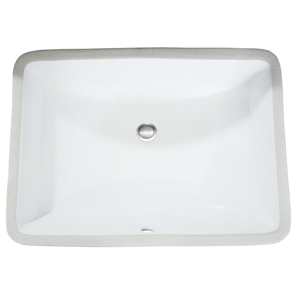 Artisan Manufacturing Undermount Bathroom Sinks item VCU 1913BT