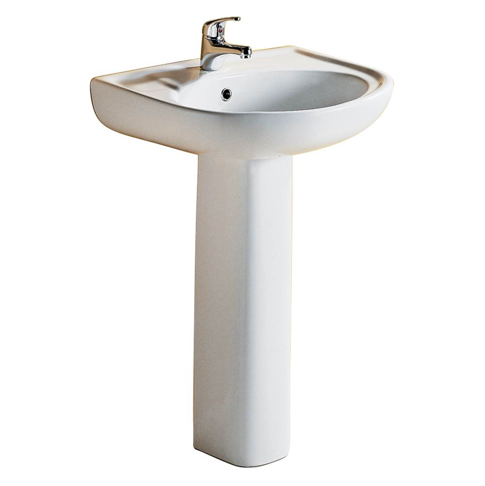 Barclay Complete Pedestal Bathroom Sinks item 3-168WH
