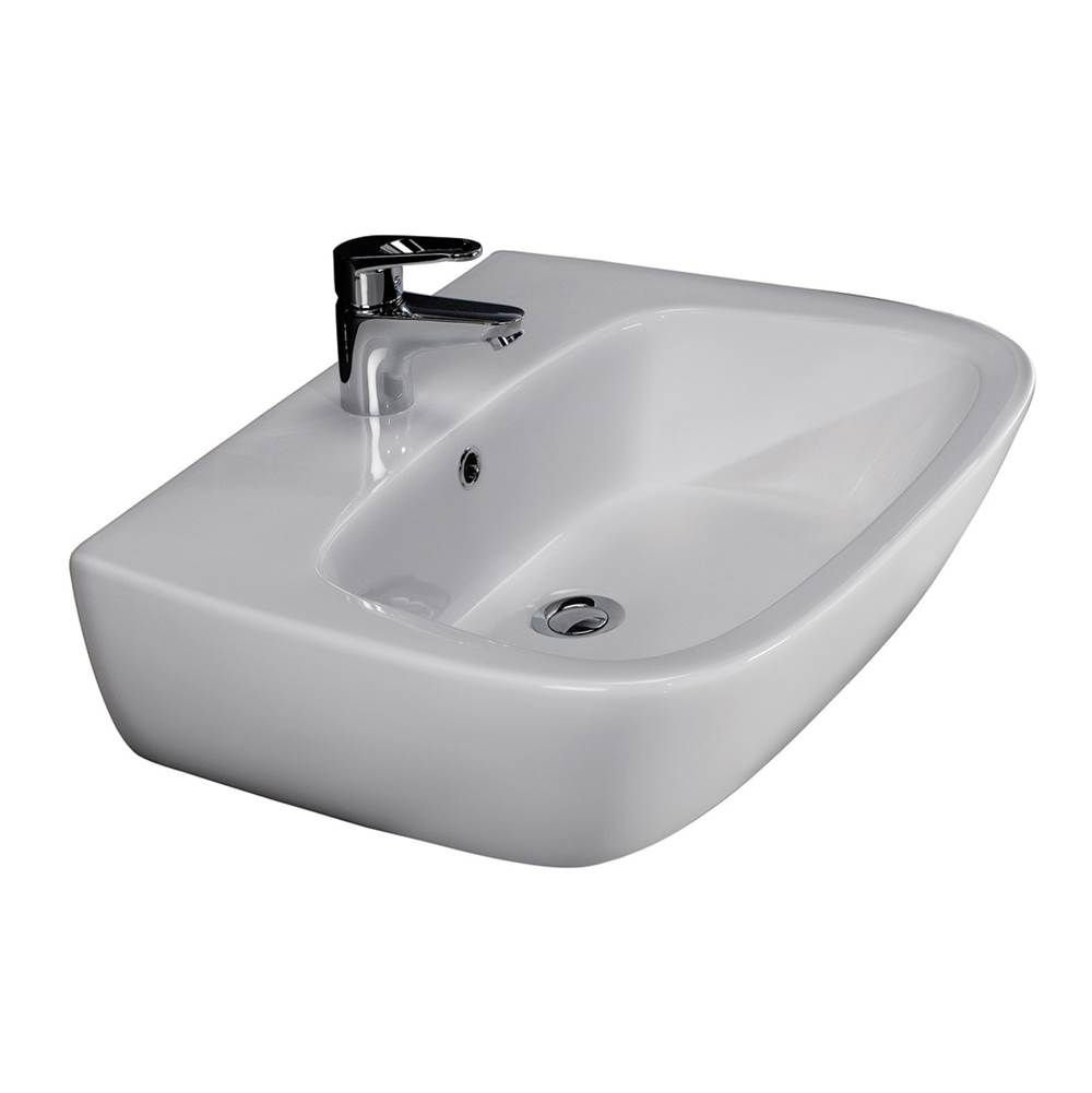 Barclay Wall Mount Bathroom Sinks item 4-1011WH