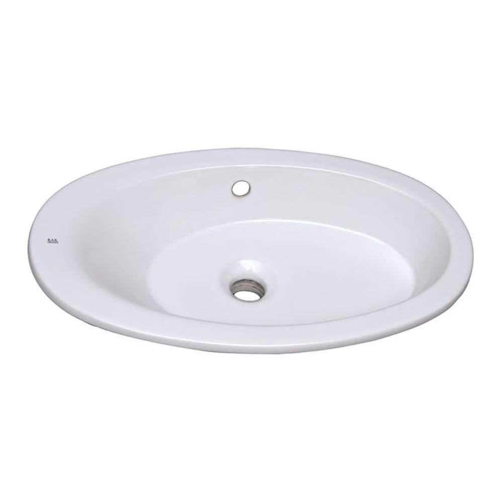 Briggs Bathroom Sinks : ... Bathroom Sinks in a decorative White finish - Grand-Island-Lenexa
