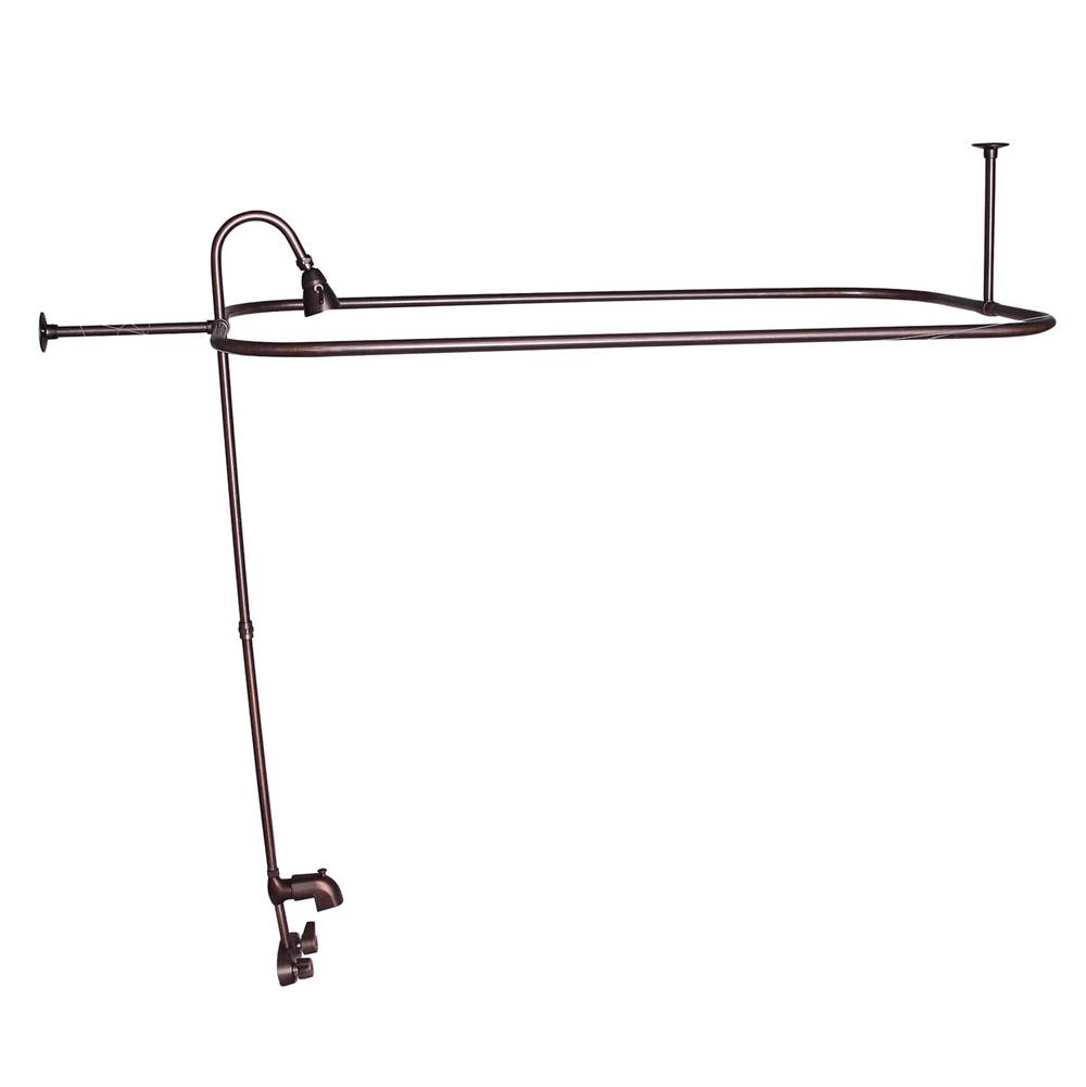 Orb Shower Curtain Rod.Barclay Shower Accessories Shower Curtain Rods Kitchens And Baths