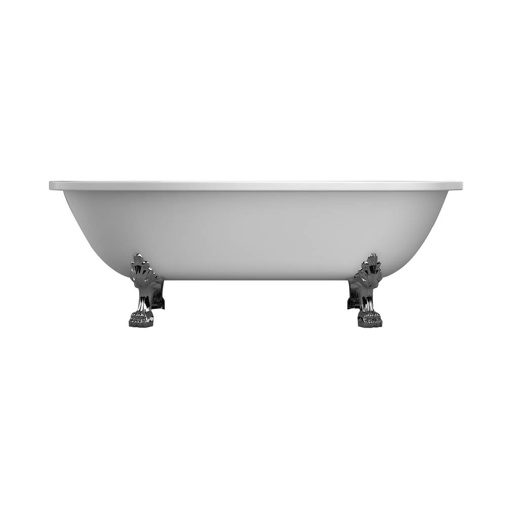 Barclay Clawfoot Soaking Tubs item ADRN70LP-WH-CP