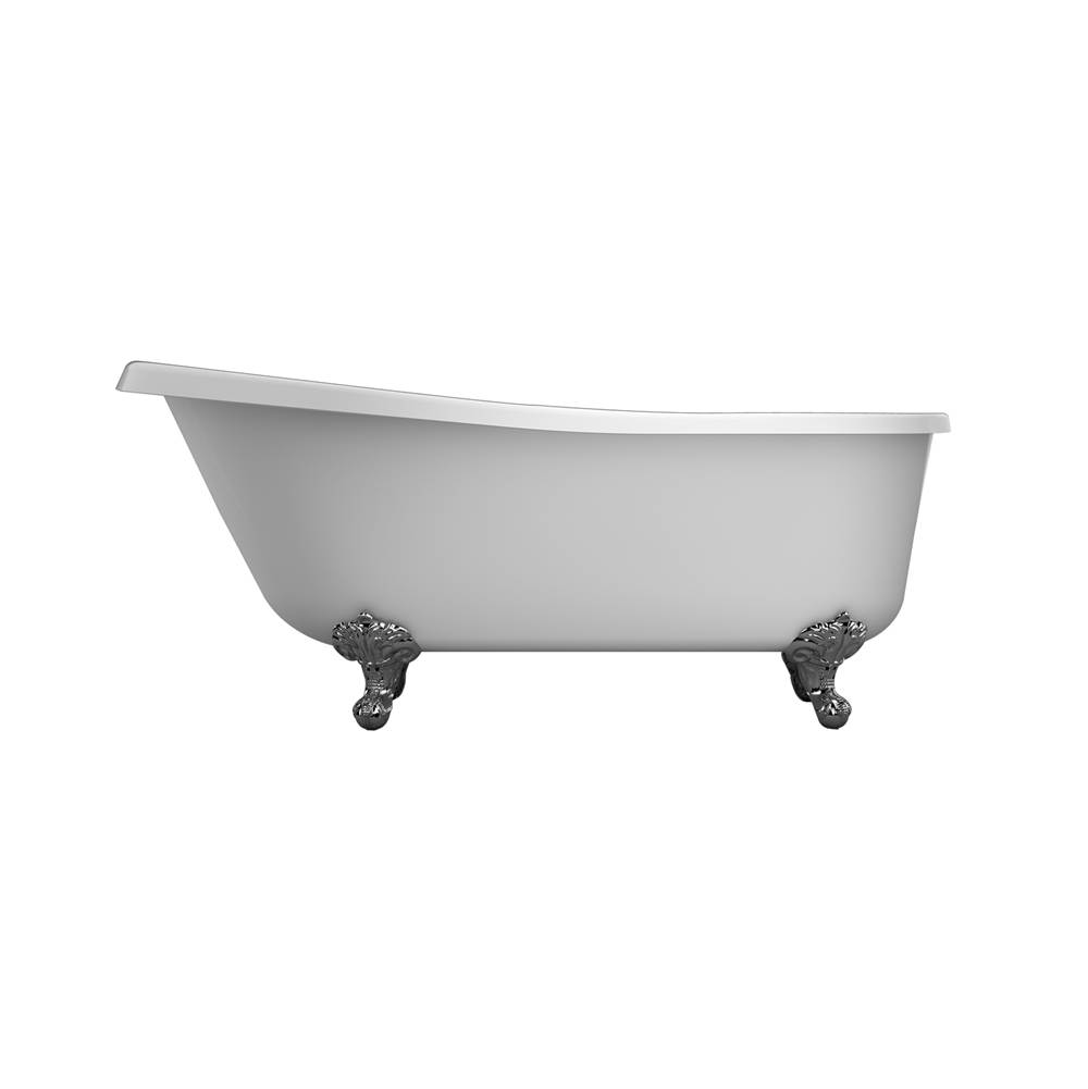 Barclay Clawfoot Soaking Tubs item ASN67IS-WH-BN
