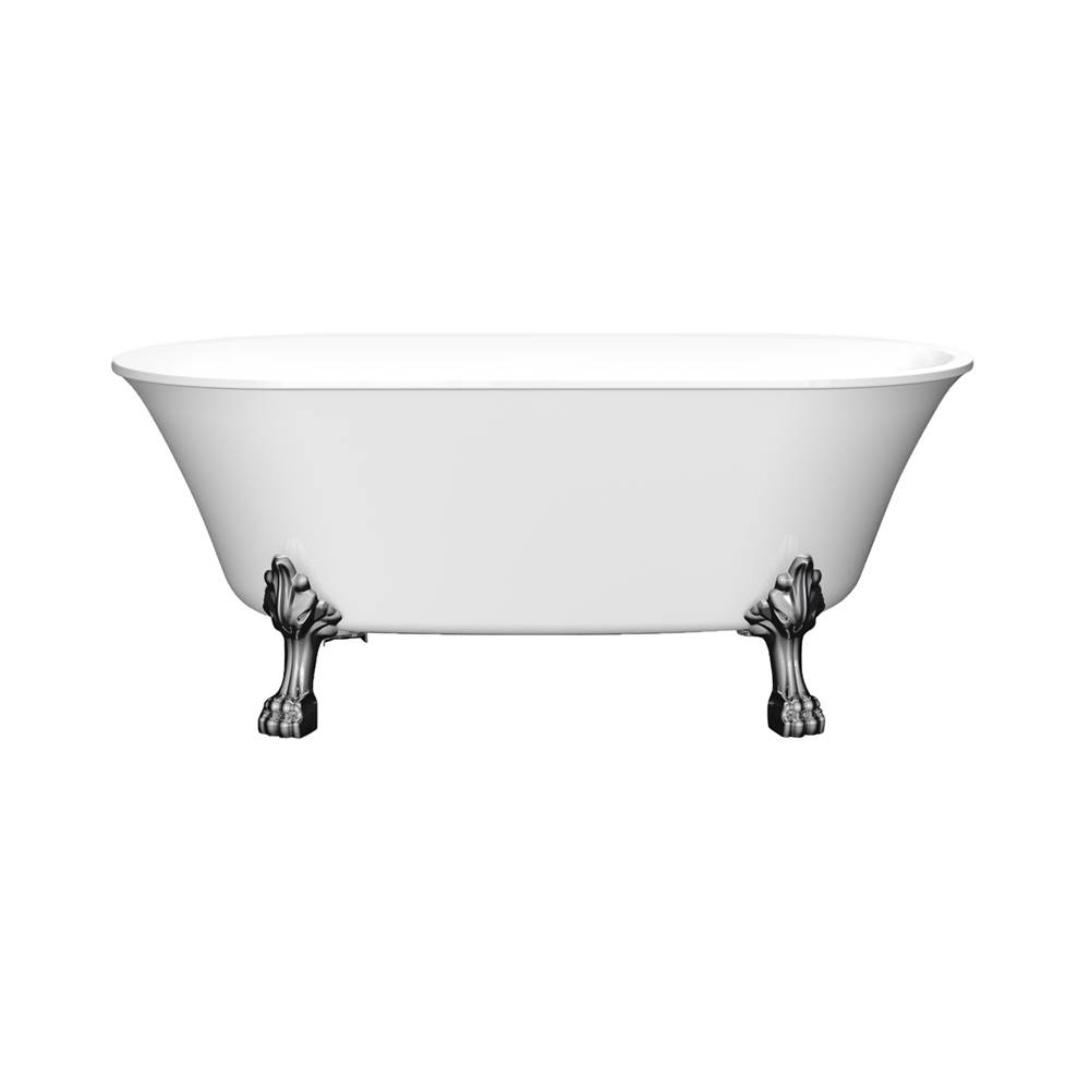 Barclay Free Standing Soaking Tubs item ATDN63LP-WH-BN