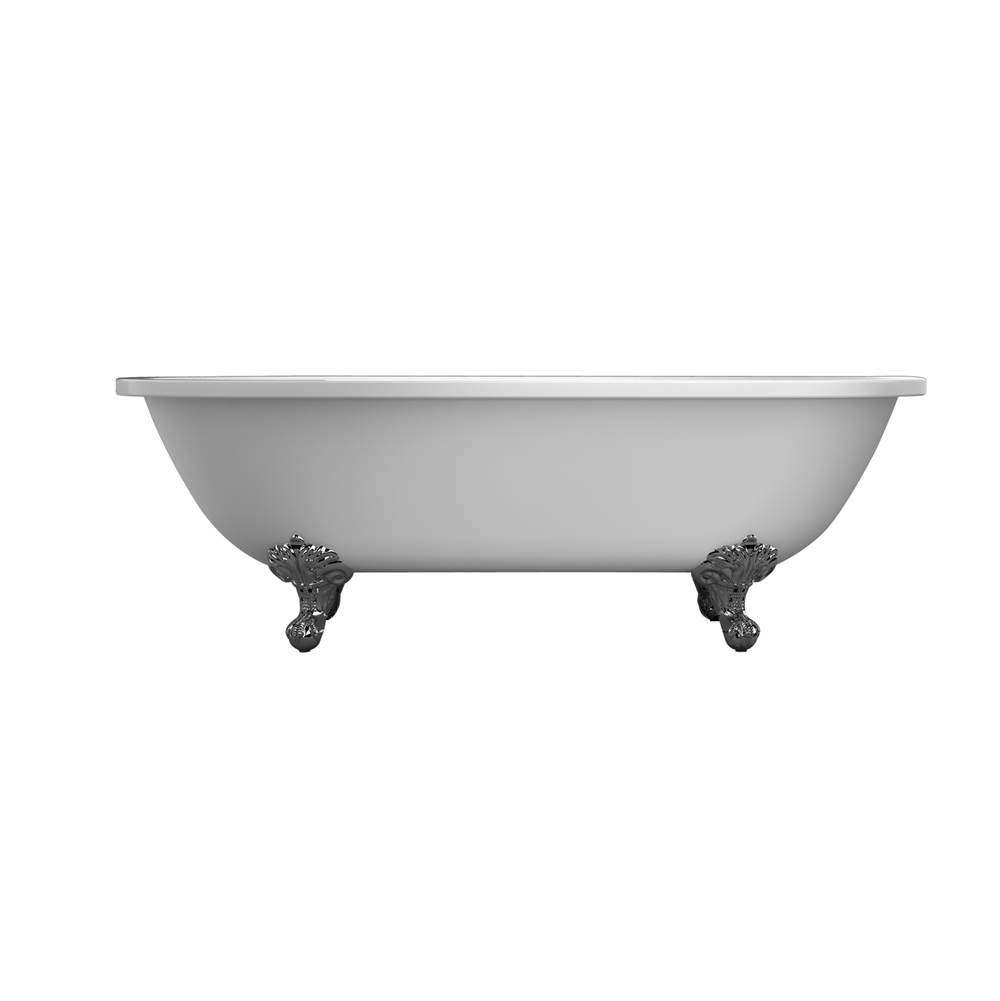 Barclay Clawfoot Soaking Tubs item ATDR7H70I-WH-PB