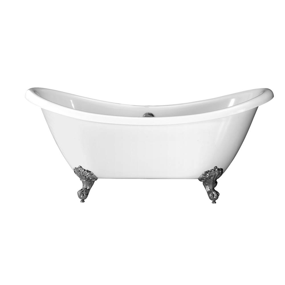 Barclay Clawfoot Soaking Tubs item ATDSN69I-WH-CP