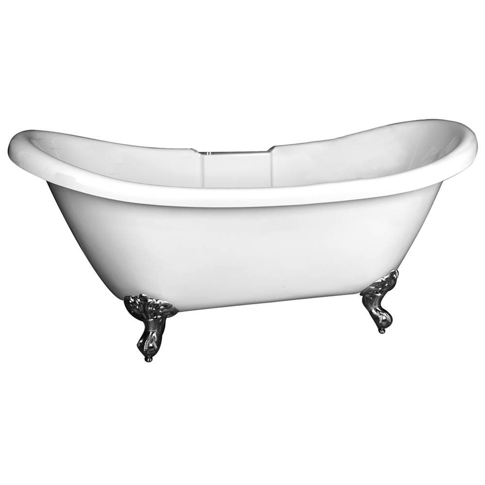 Barclay Clawfoot Soaking Tubs item ATDSN69R-WH-OR