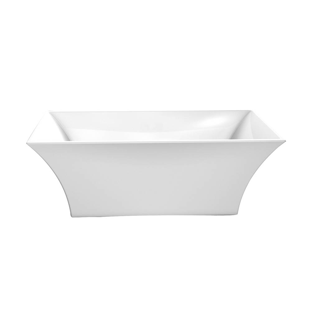 Barclay Free Standing Soaking Tubs item ATFRECN67-WH