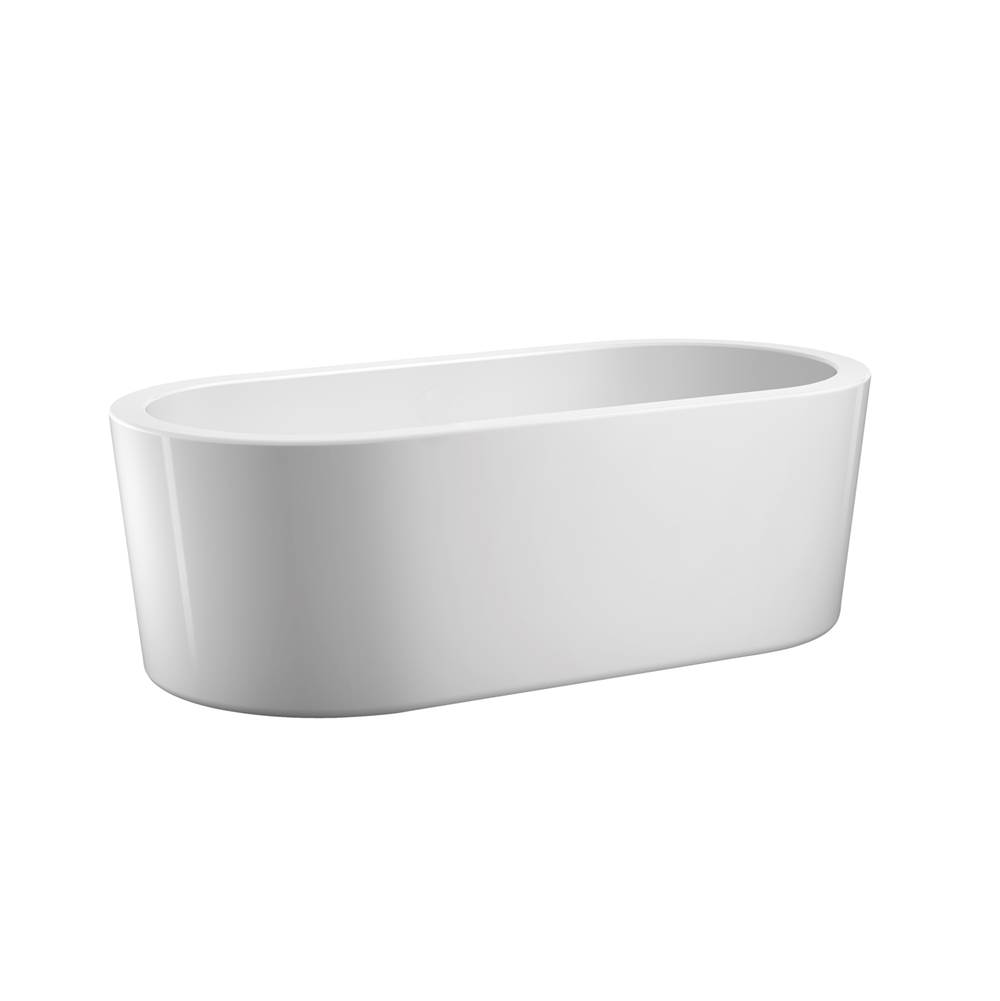 Barclay Free Standing Soaking Tubs item ATOVN66MF-WH