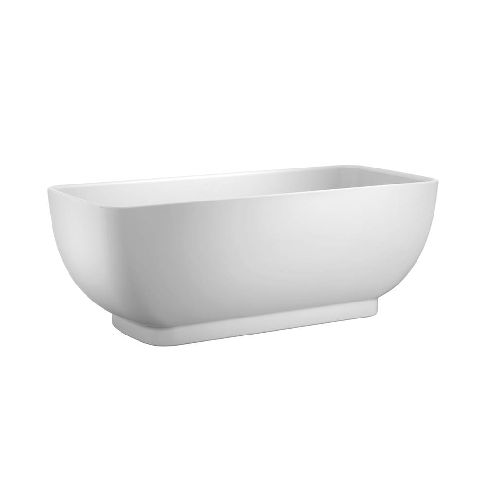 Barclay Free Standing Soaking Tubs item ATRECN67F-WH