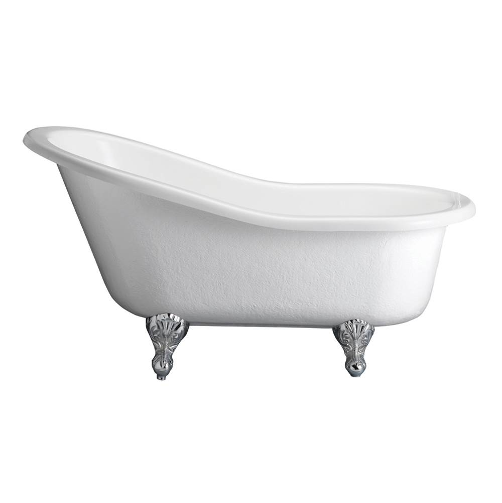 Barclay Clawfoot Soaking Tubs item ATS60-WH-PB