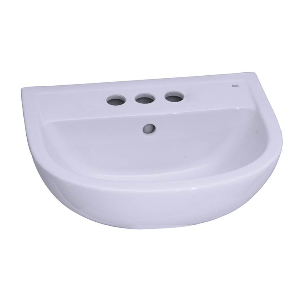 Barclay Complete Pedestal Bathroom Sinks item B/3-554WH