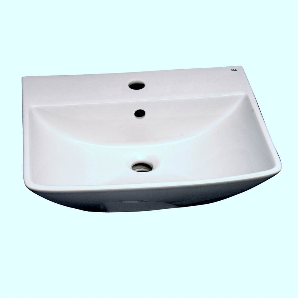 Barclay Wall Mount Bathroom Sinks item 4-761WH