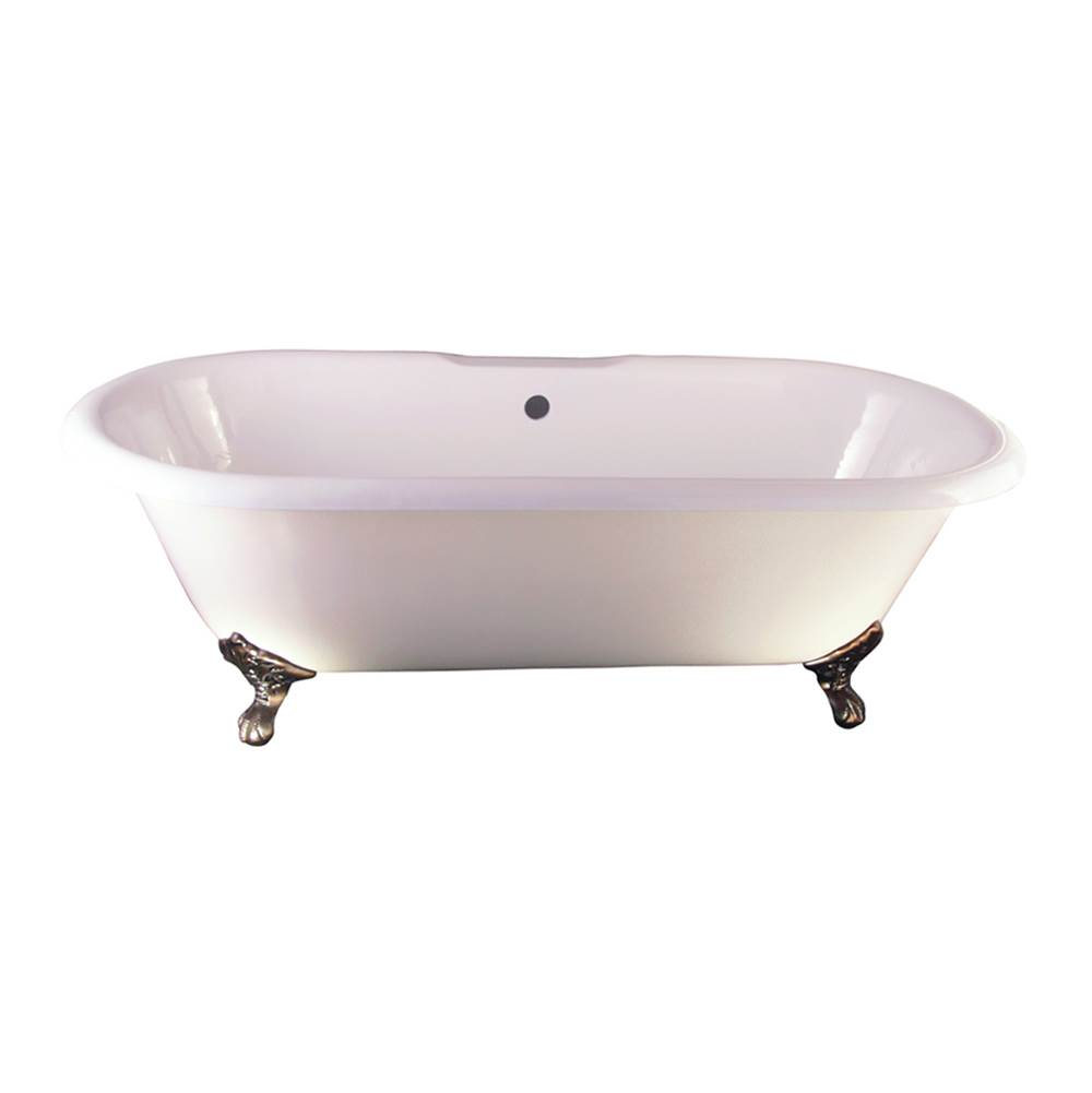 Barclay Clawfoot Soaking Tubs item CTDRN-WH-ORB