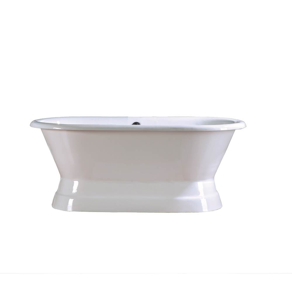 Barclay Free Standing Soaking Tubs item CTDRN60B-WH
