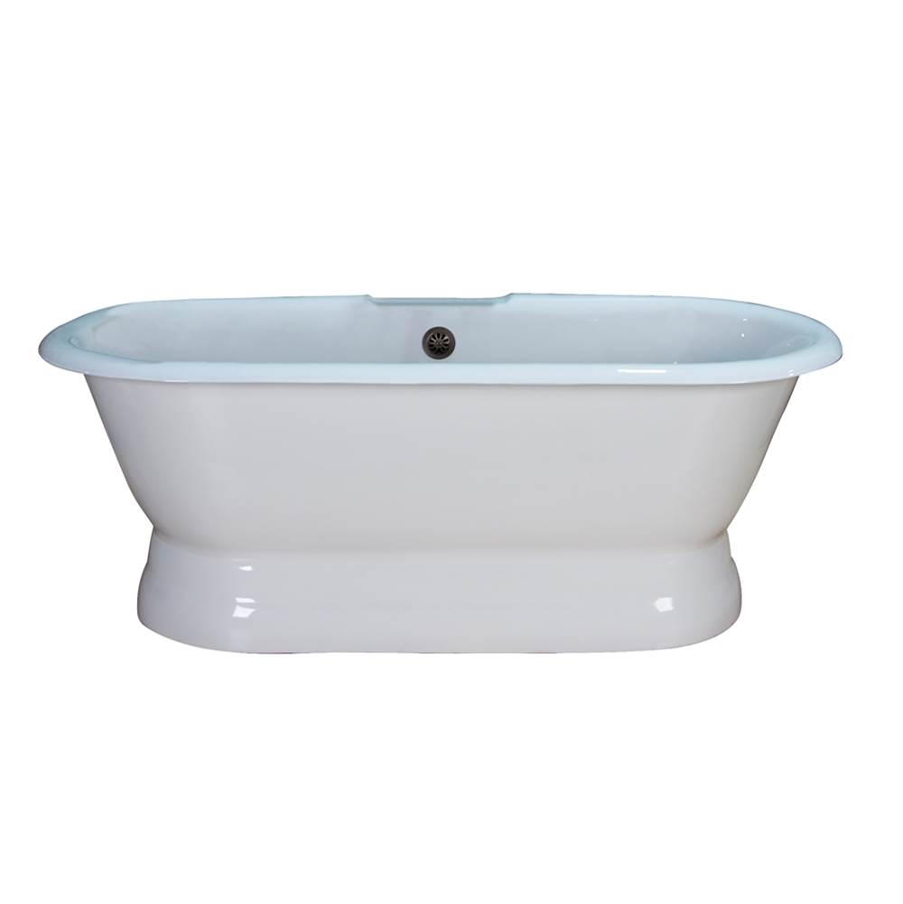 Barclay Free Standing Soaking Tubs item CTDRN61B-WH