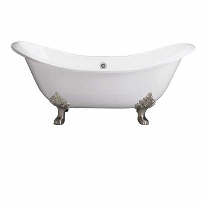 Barclay Clawfoot Soaking Tubs item CTDSH-WH-BL