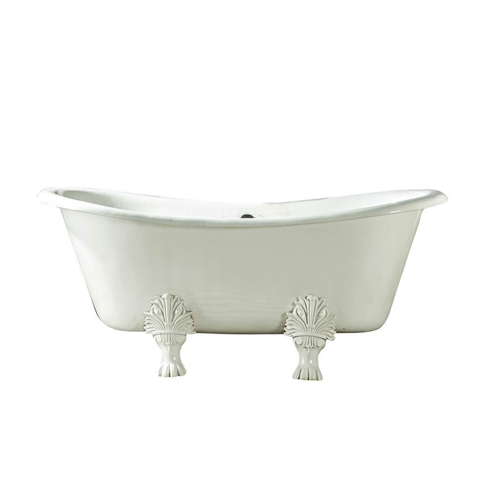 Barclay Clawfoot Soaking Tubs item CTDS7H66-WH-ORB