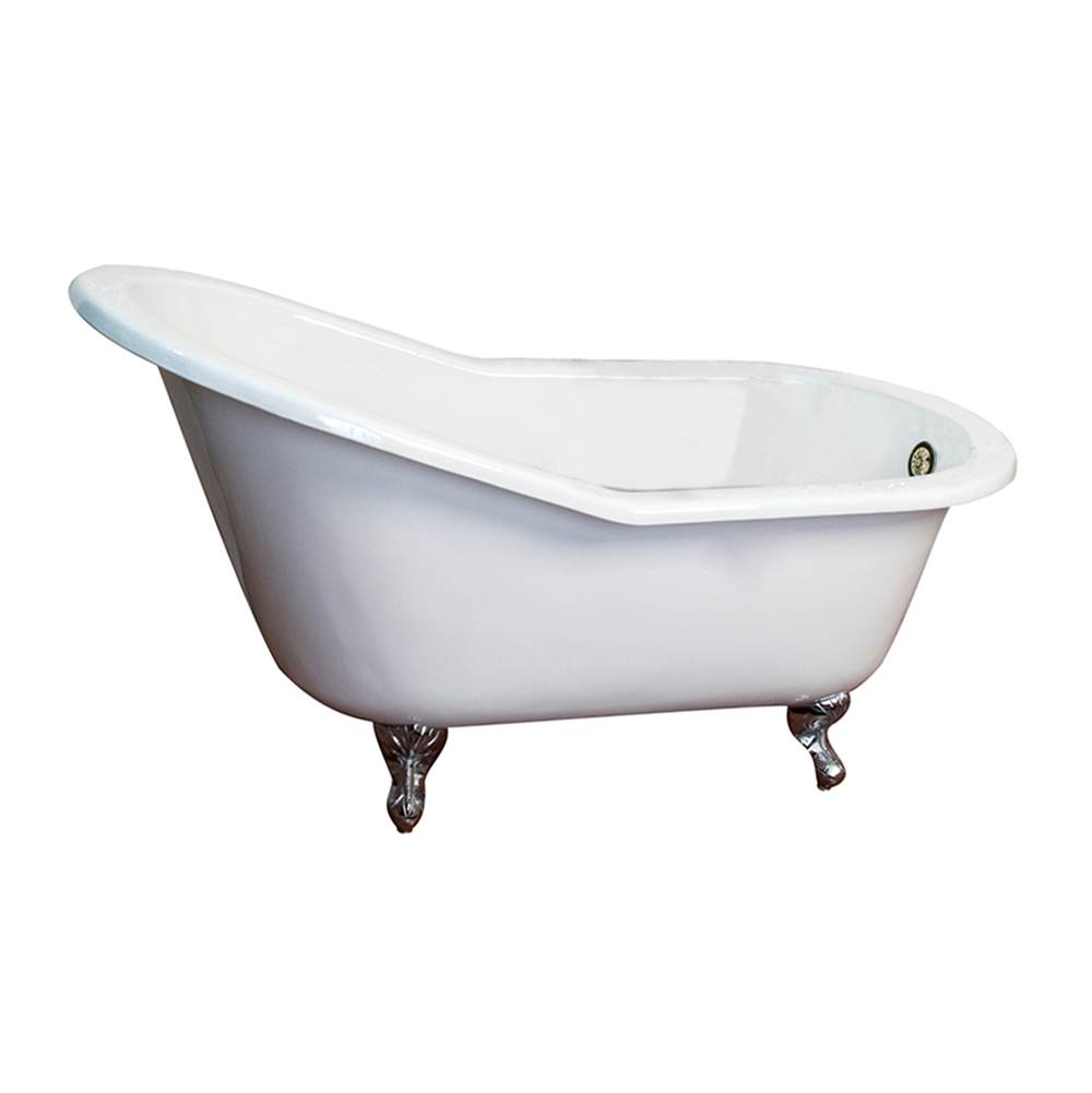 Barclay Clawfoot Soaking Tubs item CTS7H67-WH-PB