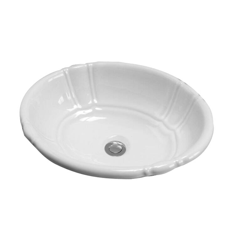 Barclay Wall Mount Bathroom Sinks item 4-710WH