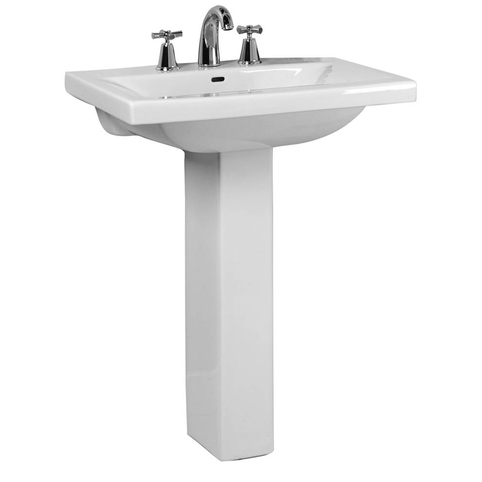Barclay Pedestal Only Pedestal Bathroom Sinks item C/3-270WH