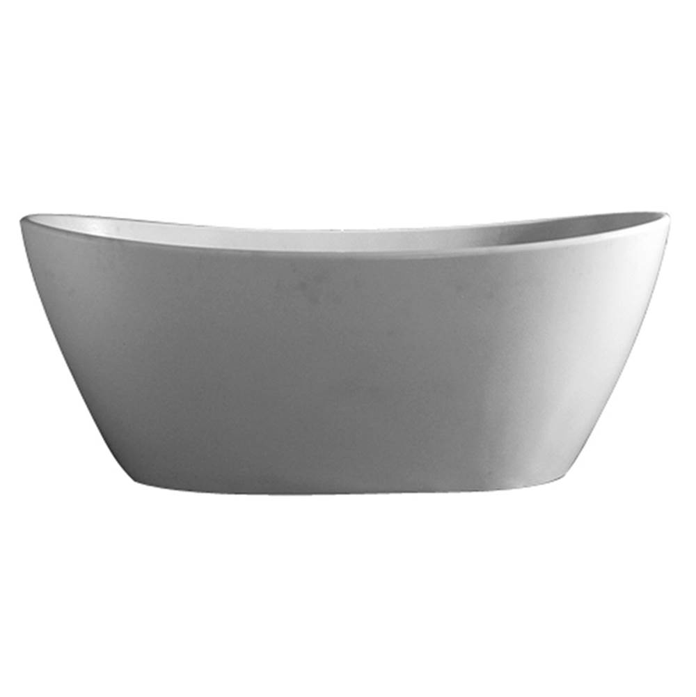 Barclay Drop In Soaking Tubs item RTDSN64-OF-WH