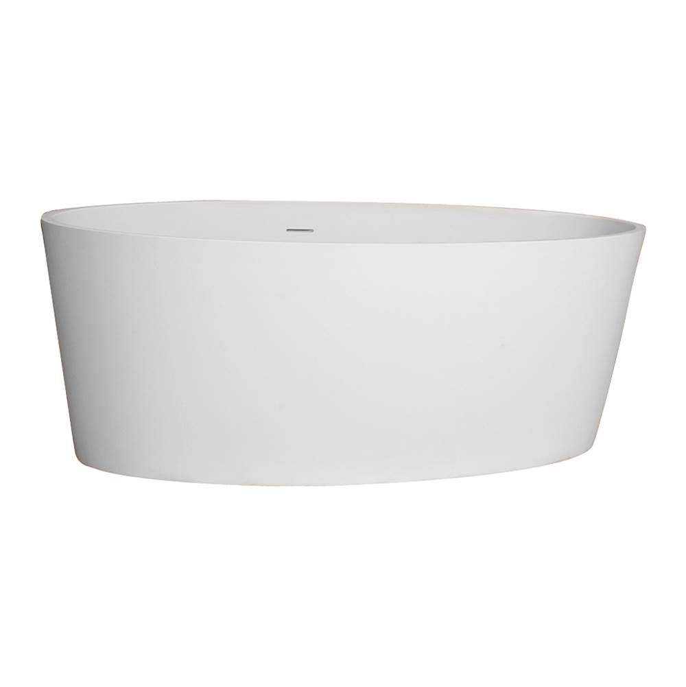 Barclay Free Standing Soaking Tubs item RTOVN63-OF-WH