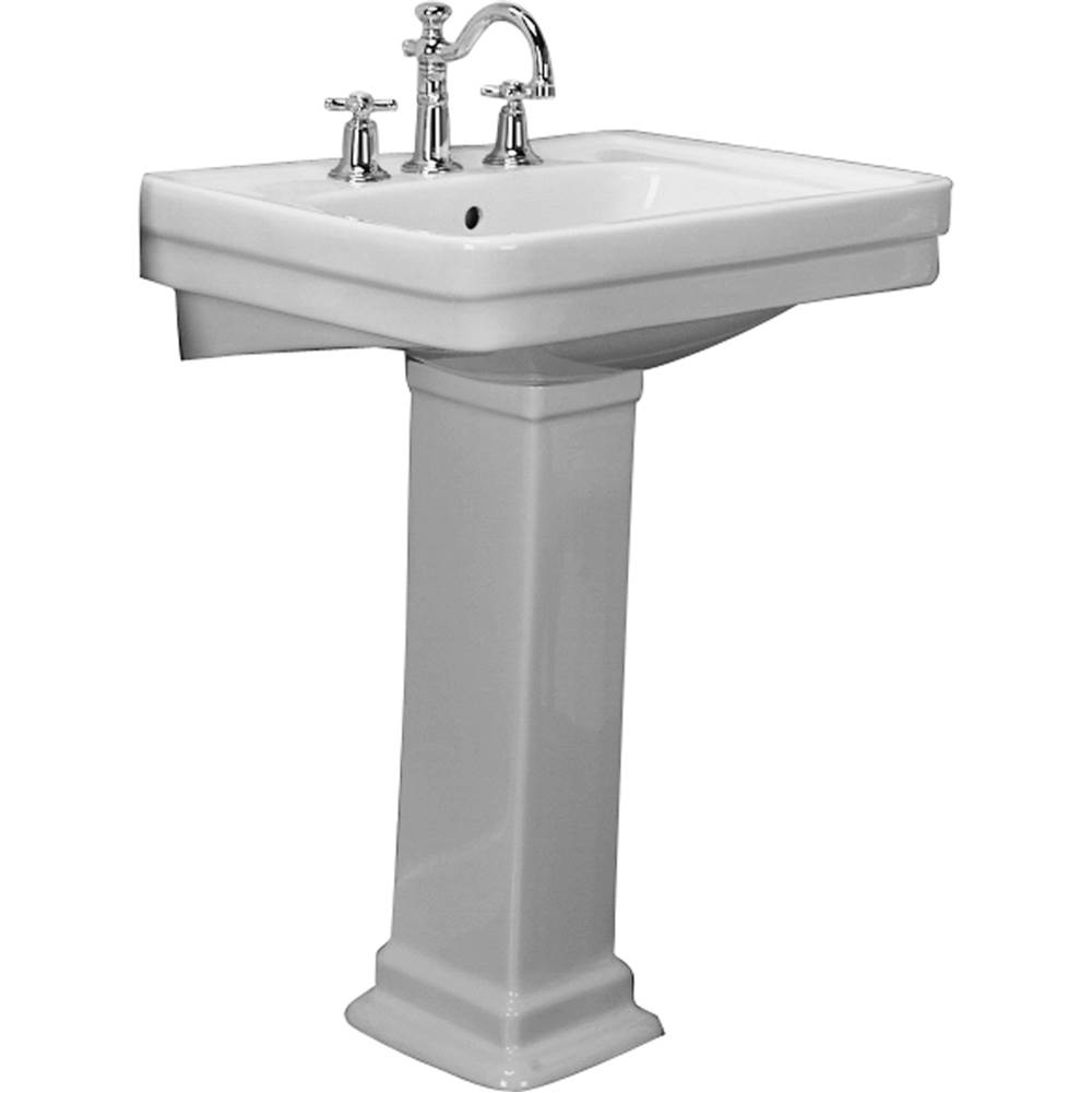 Barclay Vessel Only Pedestal Bathroom Sinks item B/3-644BQ