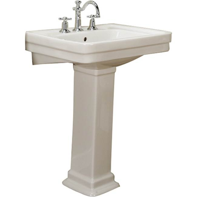 Barclay Complete Pedestal Bathroom Sinks item 3-648BQ