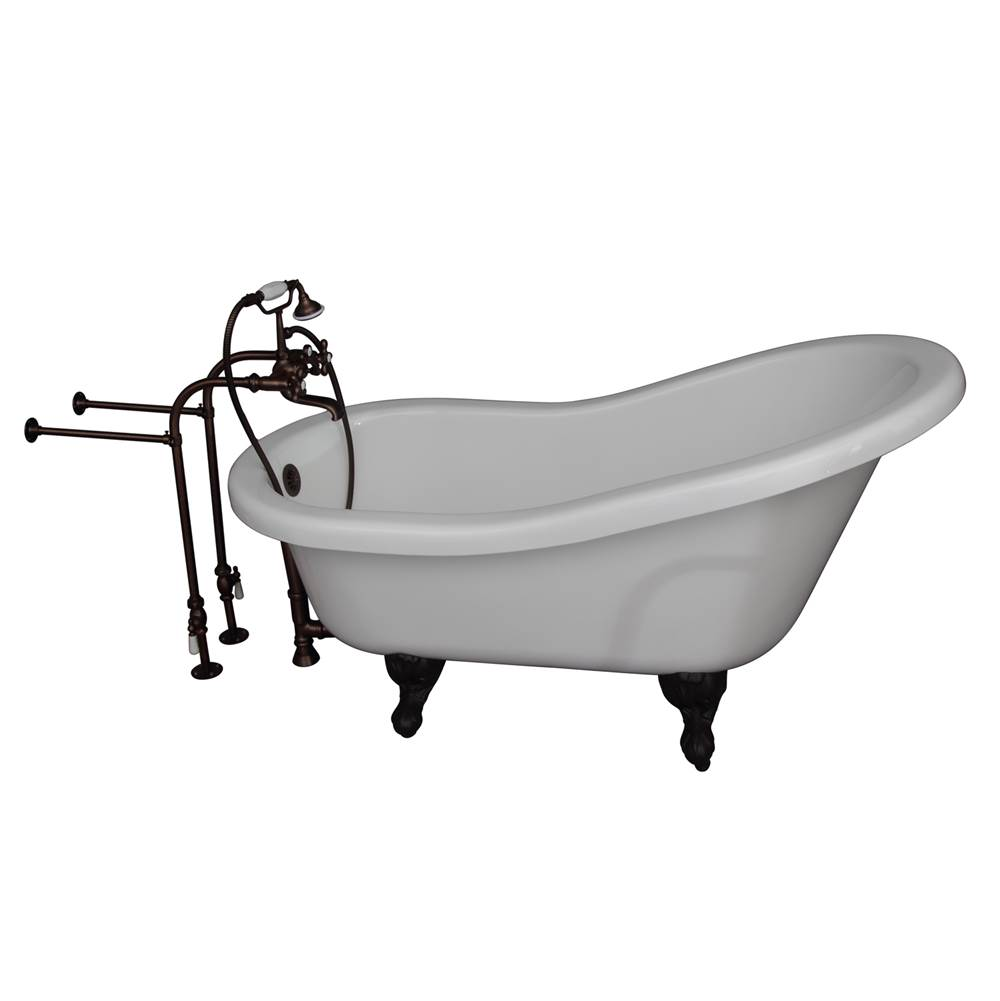 Barclay Clawfoot Soaking Tubs item TKADTS60-WORB2