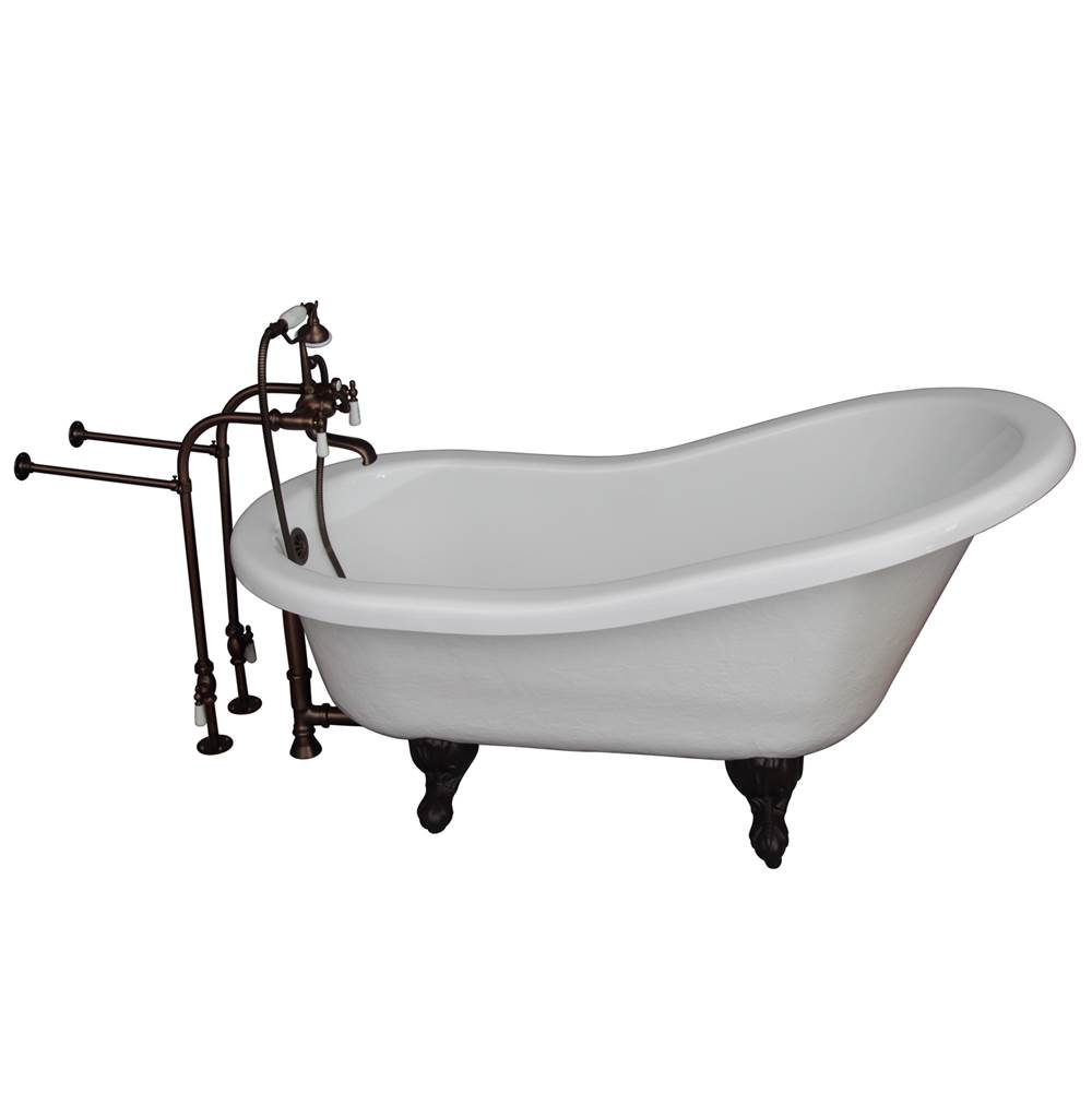 Barclay Clawfoot Soaking Tubs item TKATS60-WORB1