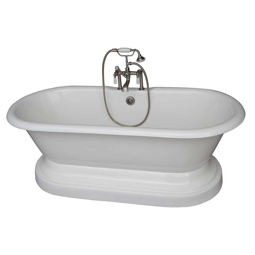 Barclay Drop In Soaking Tubs item TKCTDRHB-SN1