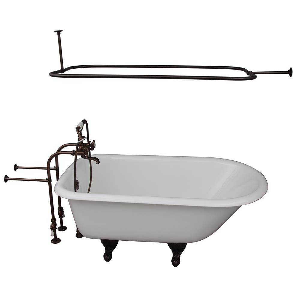 Barclay Clawfoot Soaking Tubs item TKCTRN54-ORB4