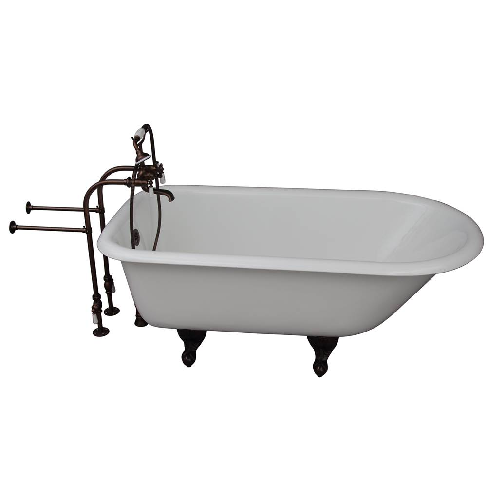 Barclay Clawfoot Soaking Tubs item TKCTRN67-ORB1