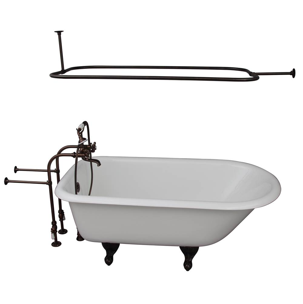 Barclay Clawfoot Soaking Tubs item TKCTRN67-ORB4