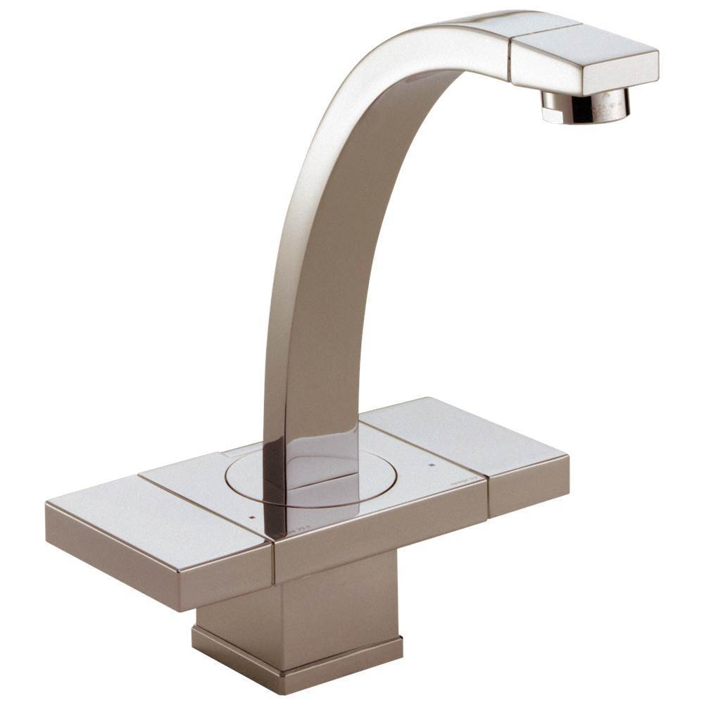 Brizo Centerset Bathroom Sink Faucets item 65172LF-BN-ECO