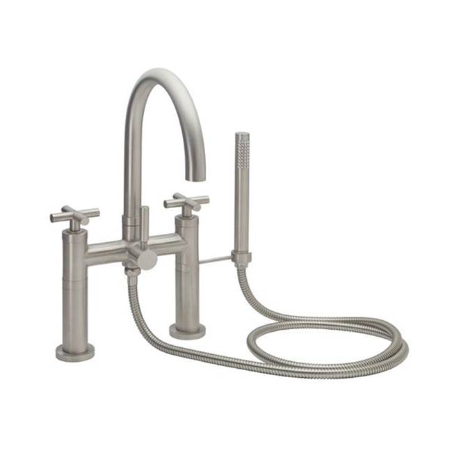 California Faucets Deck Mount Tub Fillers item 1108-62.20-MBLK