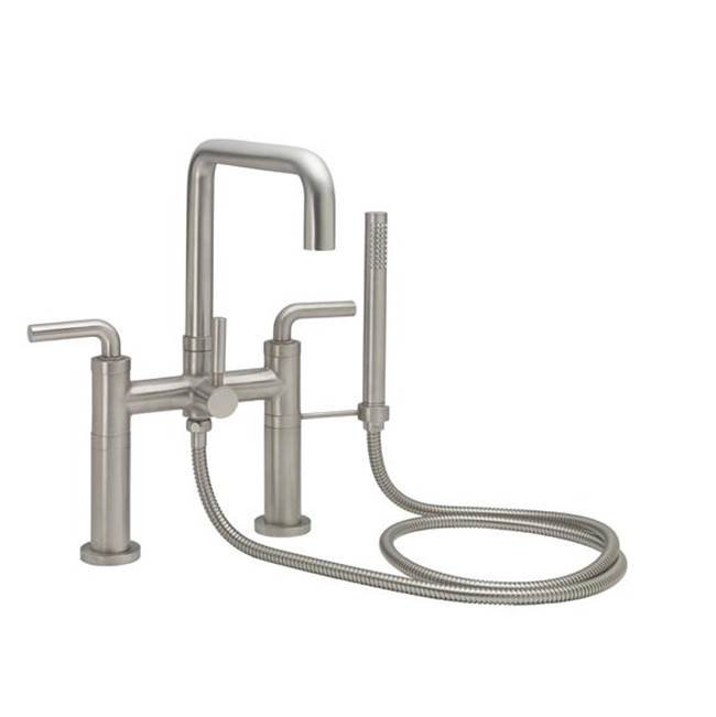 California Faucets Deck Mount Tub Fillers item 1208-74.18-SBZ