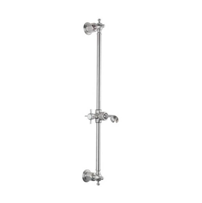 California Faucets Hand Shower Slide Bars Hand Showers item SB-36-SN
